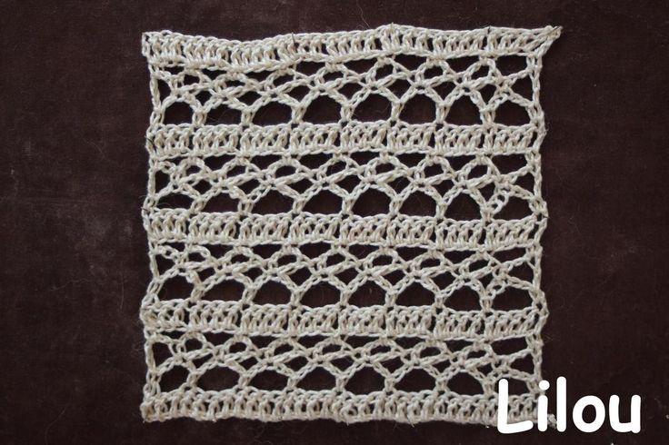 points point ajour tr s a r tutoriel dico de lilou n 24 32 crochet pinterest. Black Bedroom Furniture Sets. Home Design Ideas