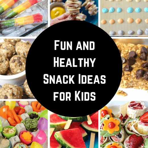 Do your kids come home from school starving? Don't load them up with empty calories, these Healthy Kids Snacks options can be a fun AND a filling treat.