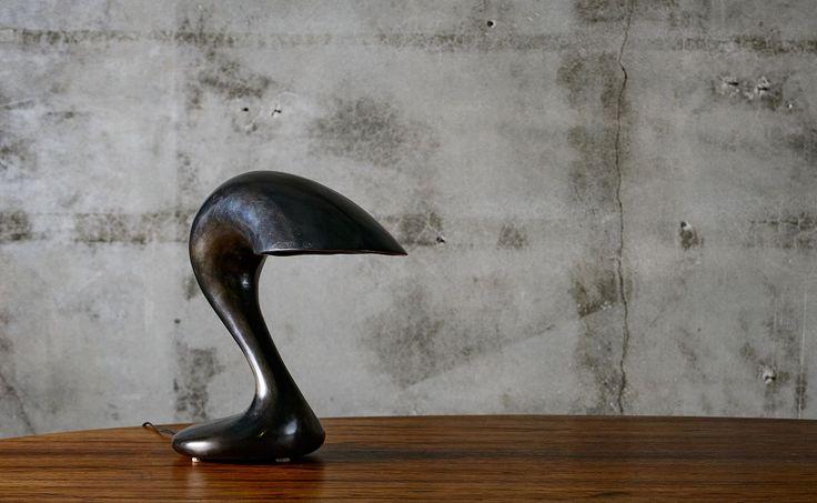 Jordan Mozer Patinated Aluminum Table Lamp - JF Chen