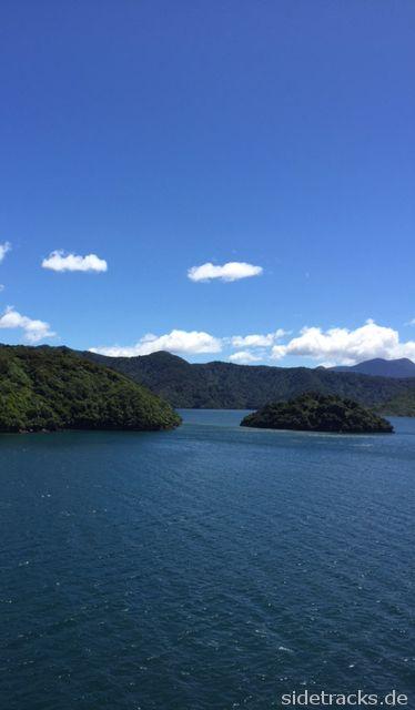 Wellington-Picton - Fähre durch die Marlborough Sounds