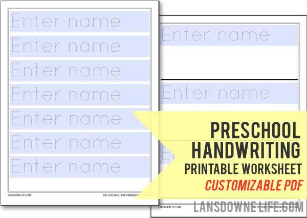 Preschool/Kindergarten Math Worksheets and Printable PDF Handouts