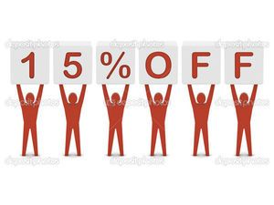 Добрый день ,дорогие покупальницы и покупатели!Рукодельницы и рукодеятели!:) В моем магазинчике с 24.10.2016 по 07.11.2016 действуют 15% скидки! Заходите,интересуйтесь,приобретайте! С уважением-я!