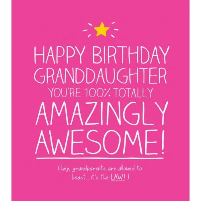 Cute Granddaughter Birthday Cards