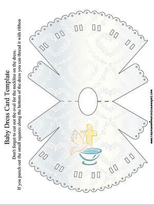 Imprimibles para bautismo 2.