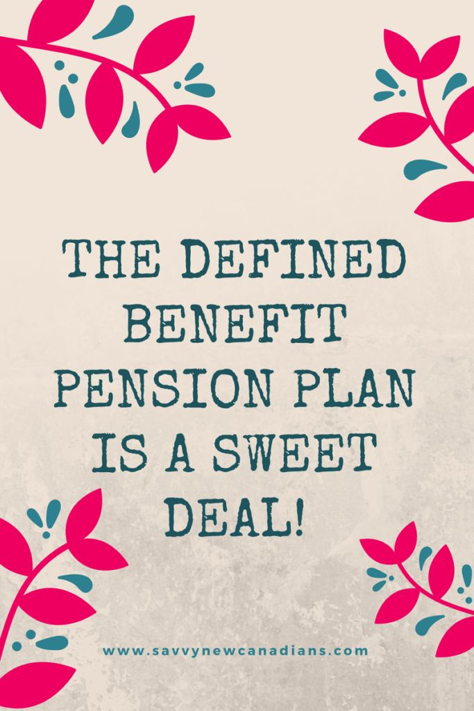 The Defined Benefit Pension Plan Is The Real Deal