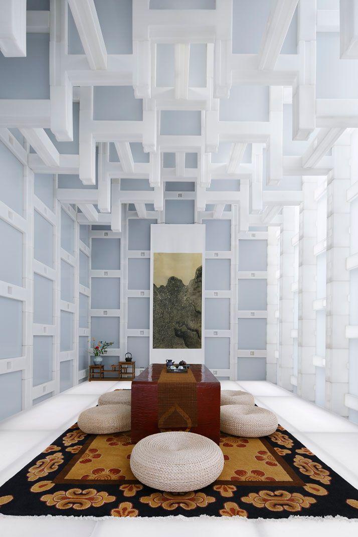Beijing TEA HOUSE, photo © Koji Fujii / Nacasa & Partners Inc.