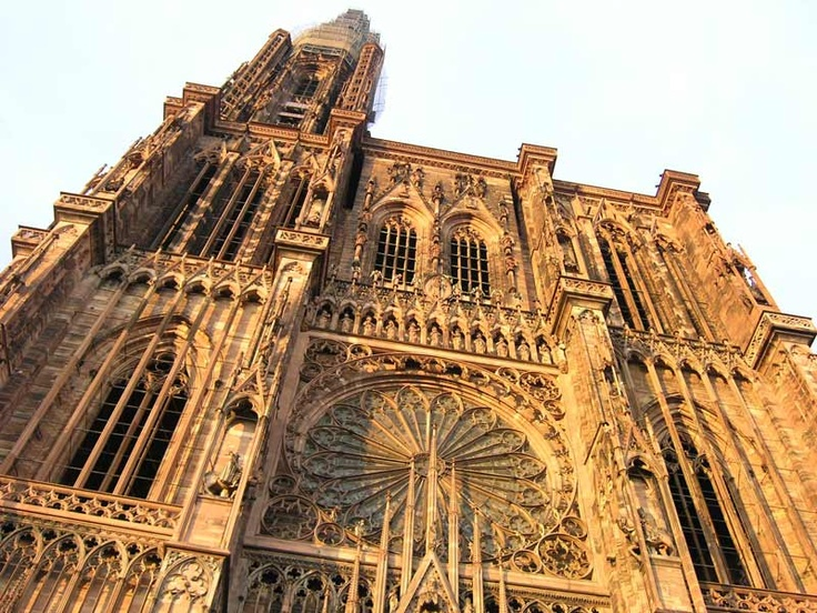 Strasbourg Cathedral - lived just a few blocks away on rue de Couples