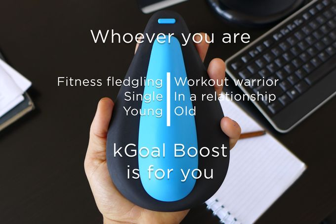 kGoal Boost: Smart Kegels For Men by Minna Life — Kickstarter