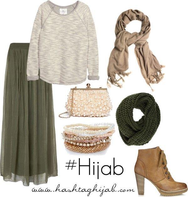 Hijab Fashion 2016/2017: Hashtag Hijab Outfit #1