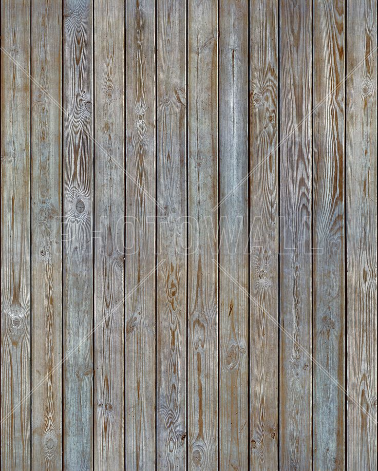 Wooden Plank Wall - Old Silver - Fototapeter & Tapeter - Photowall