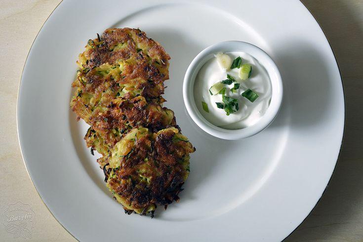 Placuszki z cukinii i ziemniaków | Kuchnia Bazylii