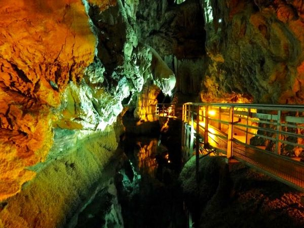 Cave of the Lakes, Kalavryta Peloponnese