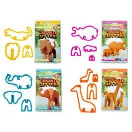 Bak je eigen 3D Safari-koekjes! Gebruik deze uitsteekvormpjes en schuif de onderdelen na het bakken in elkaar. Zo maak je in een handomdraai een olifant, leeuw, nijlpaard of giraffe die echt kan staan! Spaar mee: http://webshop.oetker.nl/hoe-werkt-het #koekjes