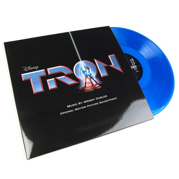 Wendy Carlos: TRON Original Motion Picture Soundtrack (180g Blue Vinyl) Vinyl 2LP