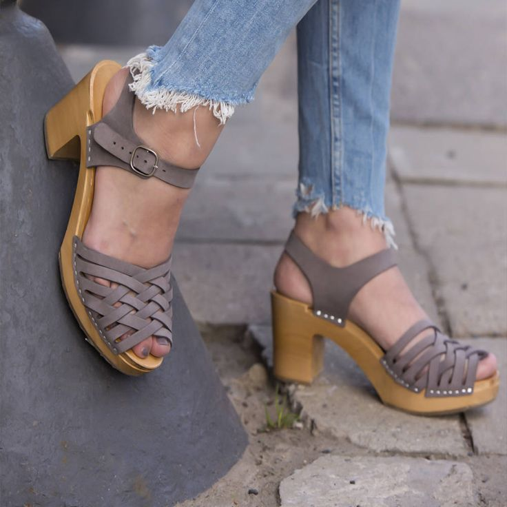 Clog | Kulikstyle | Swedish Clogs | Shoes | Sandals | swedish | clog sandals | trending | women clogs | sandales | KULIK | Paris GRAY | by kulikstyle on Etsy