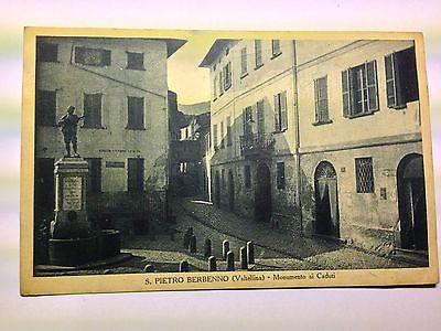 S.Pietro Berbenno (SO) - P.za Vittorio Veneto - viaggiata - anni '30