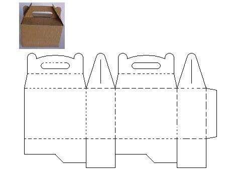 Como hacer una cajita feliz de mcdonalds buscar con - Como hacer una caja con carton ...