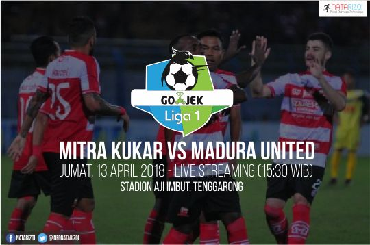 Nonton Live Streaming Mitra Kukar vs Madura United 13 April 2018