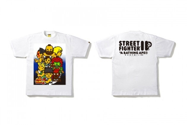 Bape x Street Fighter II 25th Anniversary T-Shirt Collection 4