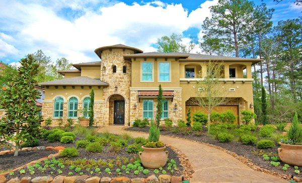 The woodlands creekside park spincaster by our luxury for Dream house builder