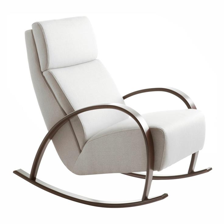 Sof tapizado de 2 plazas proa ii modern rocking chairs and modern rocking chairs - Sofa mecedora ...