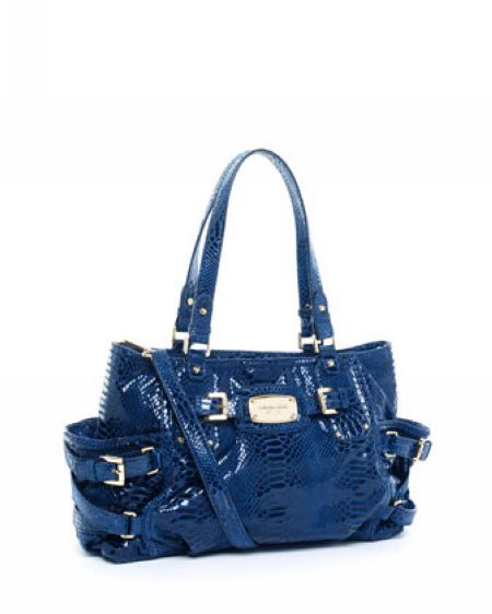 Michael Kors Handbags Sale Exclusive Medium Satchel Indigo-E