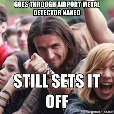 Ridiculously Photogenic Metal Guy