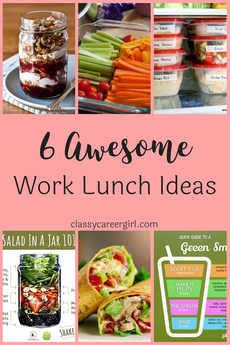 11 best shopping lists images on pinterest health foods healthy 6 awesome work lunch ideas fandeluxe Image collections