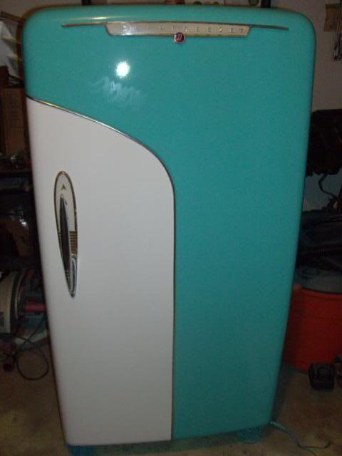 Crosley Shelvador Refrigerator 1950 S Model Vintage