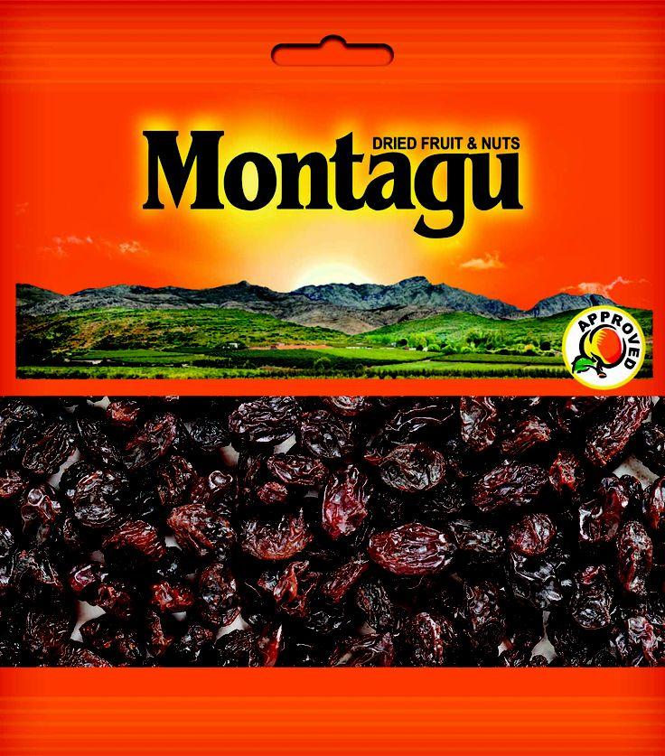 Montagu Dried Fruit - THOMPSON SEEDLESS RAISINS STRIP PACK http://montagudriedfruit.co.za/mtc_stores.php