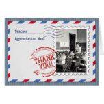 Teacher Appreciation Week  Custom Greeting Cards