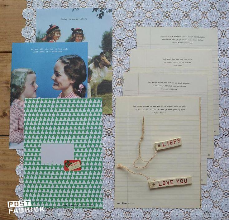 Kerstbrieven ilv kaartjes-het hoe en waarom door Postfabriek's Ruchma