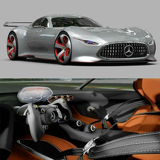 2017 Lamborghini Aventador Head Gasket: Mercedes Benz Vision GT Follow @motivatedhustle For
