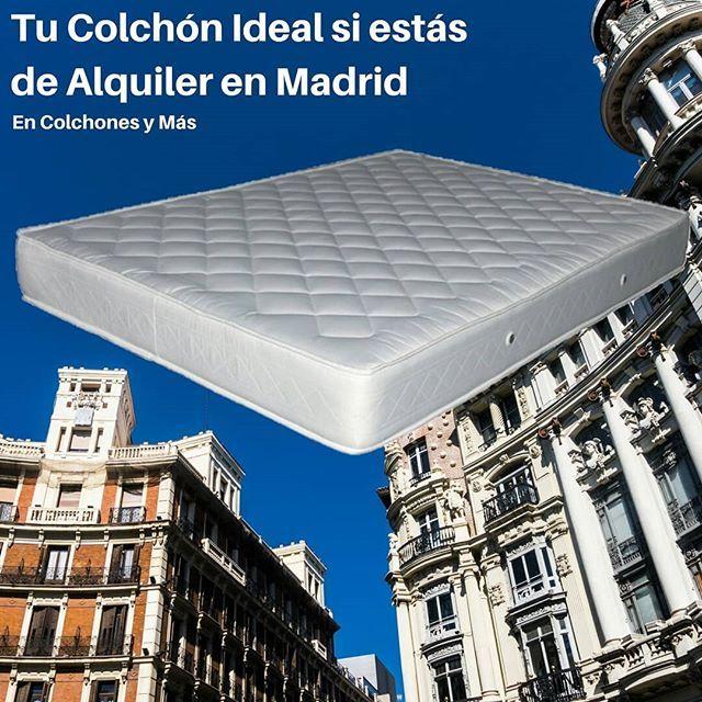 Estas En Un Piso De Alquiler En Madrid Y El Colchon Te Esta