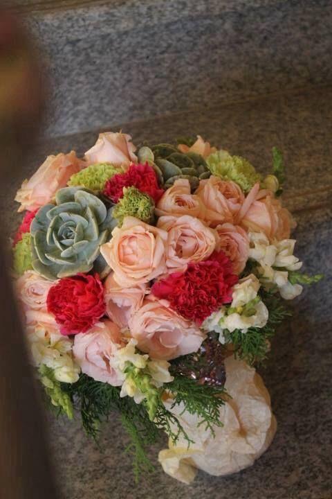 Love Birds Wedding Inspired Bridal Bouquet