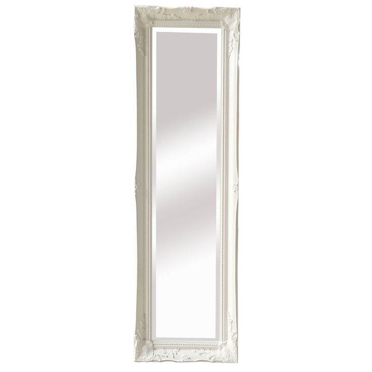 Selections by Chaumont Maissance Traditional Full Length Mirror (Matte - White)