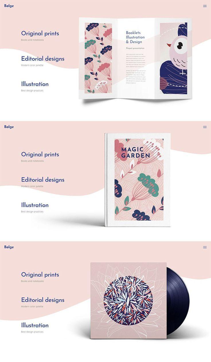Bolge artist portfolio theme in 2020 graphic designer