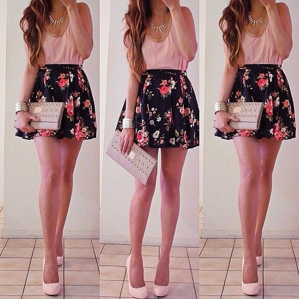 Future Date Night Ootd #summer #australia #florals Top Local | Skirt | Diy It Up! | Pinterest ...