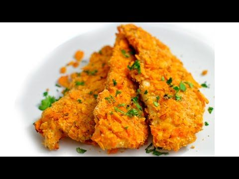 Crispy Dorito Baked Chicken Tenders – Eggless! – Rich Bitch Cooking