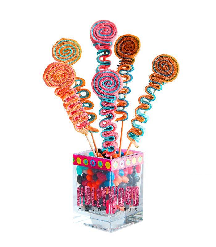 Sweet Stick Candy Kabob Skewers Arrangement