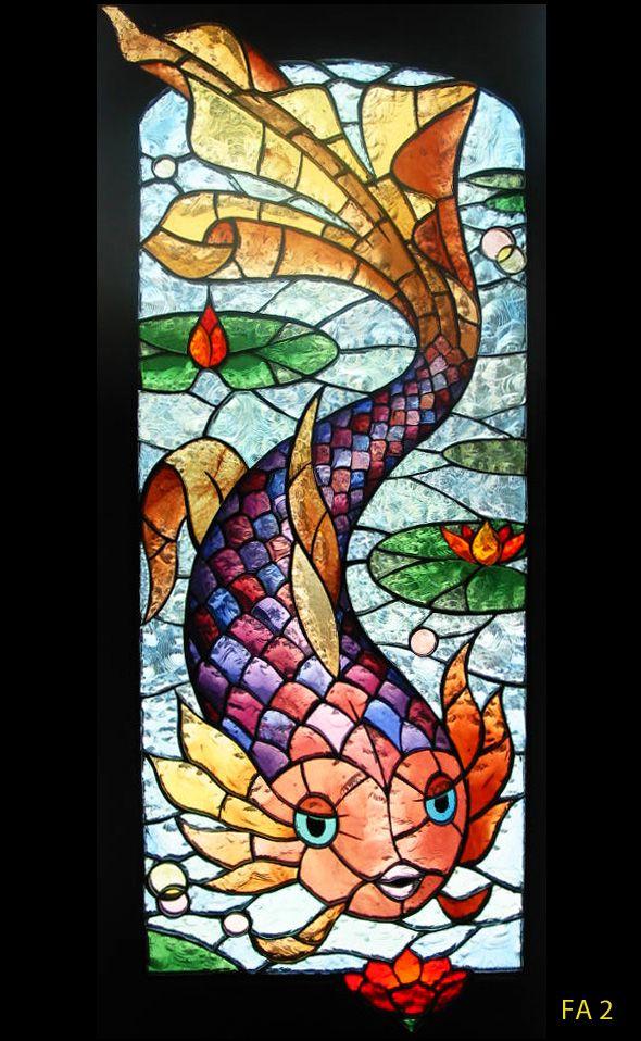 vitraux décoratifs | Thèmes décoration floraleThème animalierPaysagesPersonnages ...