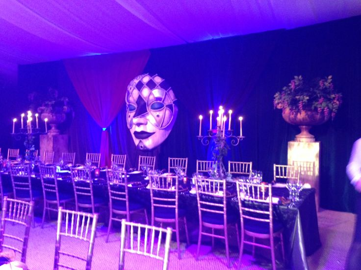 Masquerade Ball in the Onsite Marquee at Crowne Plaza Hunter Valley