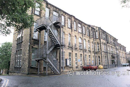 Bradford workhouse, 2001