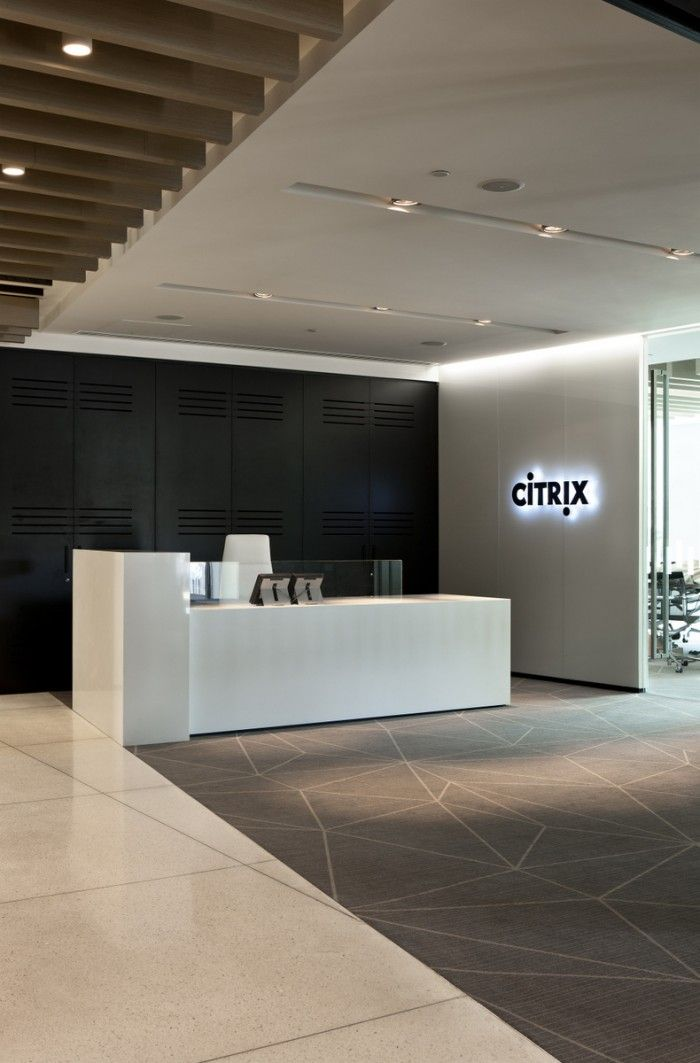 Citrix Reception Portrait 700x1063 Citrixs Collaborative Auckland Offices