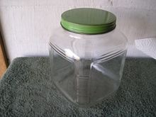 Large Glass Store Jar with Lid
