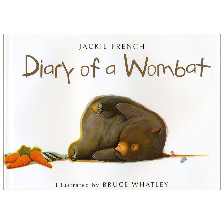 Wombats are cuddly-looking, slow-moving Australian animals. Their favorite activities are eating, sleeping, and digging holes. Here, in the words of one unusually articulate wombat, is the tongue-in-cheek account of a busy week; eating, sleeping, digging holes . . . and training its new neighbors, a family of humans, to produce treats on demand. This entertaining book, with its brief, humorous text and hilarious illustrations, will endear the wombat to young children, who may recognize in…