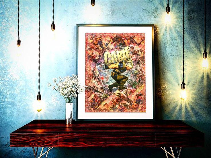 #Cable     #marvelstuff #marvelcollectorcorps #marvelcomics #marvel #comics #comicshop #comicartwork #comicart #etsysale #etsygifts #etsy #etsyshop #etsyseller #artlife #collageart #deadpool2 #joshbrolin #ryanreynolds #deadpool #giftideas #holidaysale #follow #scifi #superheroart #montreal #xmen