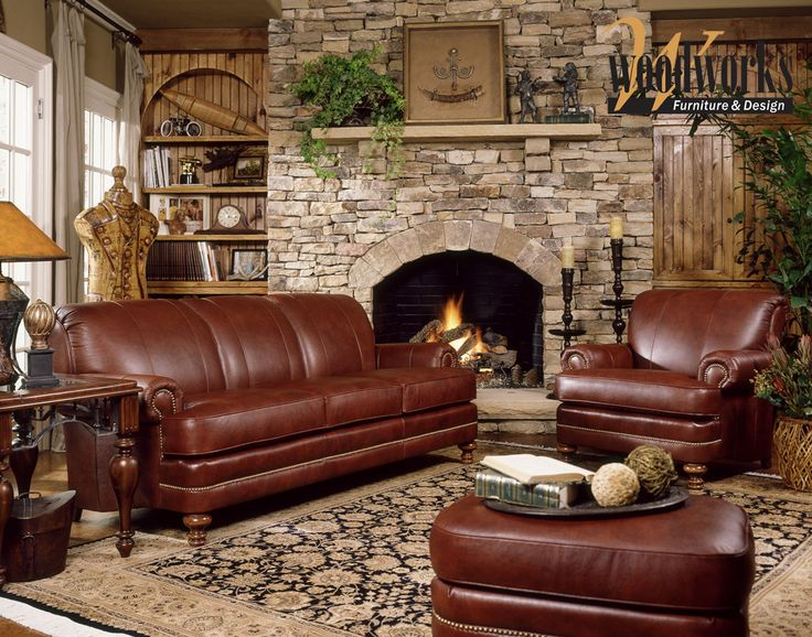 Every piece receives personal attention from talented craftsmen.  Smith Brothers Furniture, made in the USA, available at Woodworks Furniture & Design!