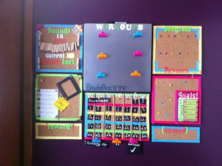 Create a Motivation Board to Keep you Focused