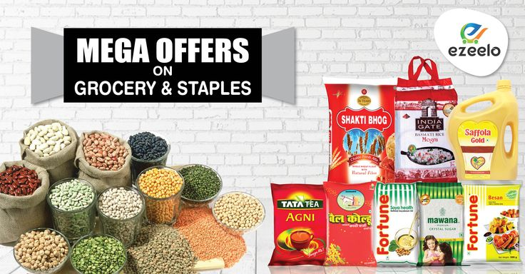 Great offers on all grocery products for Kanpur & Lucknow